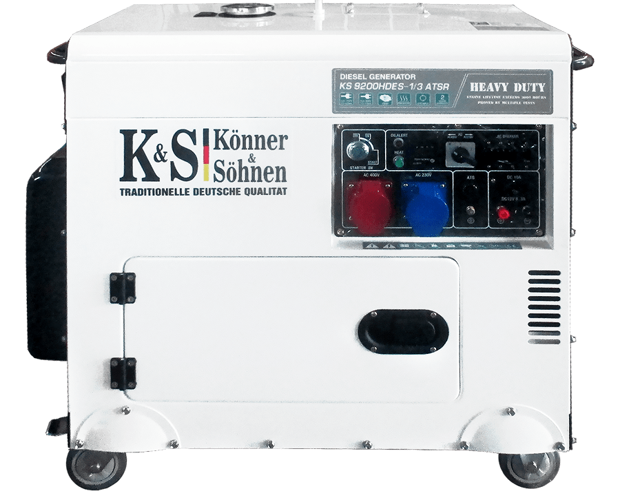 Дизельный генератор Könner&Söhnen KS 9200 HDES-1/3 ATSR