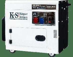 Дизельный генератор Könner&Söhnen KS 9200 HDES-1/3 ATSR, фото 2