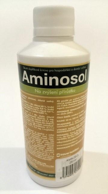 АМИНОСОЛ иммуномодулятор для всех видов животных 250мл