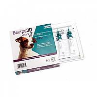 ВЕКТРА 3Д капли от блох и клещей для собак от 4 до 10 кг 1,6 мл