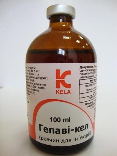 ГЕПАВИ - КЕЛ витамин В комплекс, гепатопротектор 100 мл