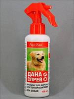 ДАНА - спрей для собак от блох и клещей, 100 мл