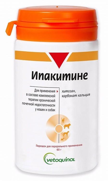 ИПАКИТИНЕ для лечения хронической почечной недостаточности у собак и кошек, 60 гр