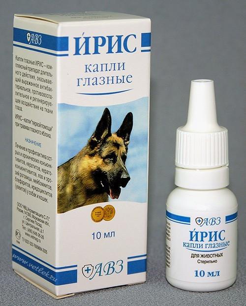 ИРИС капли глазные для собак и кошек 10 мл гентамицин 0,4 %