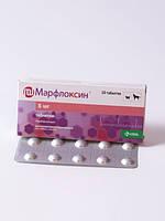 МАРФЛОКСИН 5 мг 10 таб антибактериальные таблетки для собак и кошек