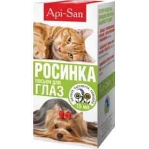 РОСИНКА лосьон для глаз собак, кошек и кроликов 15 мл