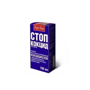 СТОП КОКЦИД для лечения и профилактики кокцидиозов, 100 мл