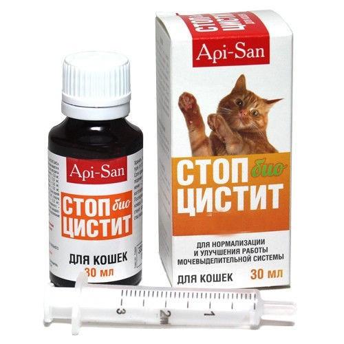 СТОП ЦИСТИТ БИО суспензия для лечения мочеполовой системы у кошек, 30 мл