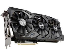 Asus PCI-Ex GeForce GTX 1070 ROG Strix 8GB GDDR5 256bit 1632 8000 DVI, 2 x HDMI, 2 x DisplayPort, КОД: 197259