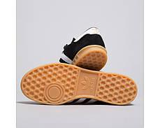 Мужские кроссовки  Adidas Hamburg Black S76696, оригинал, фото 3