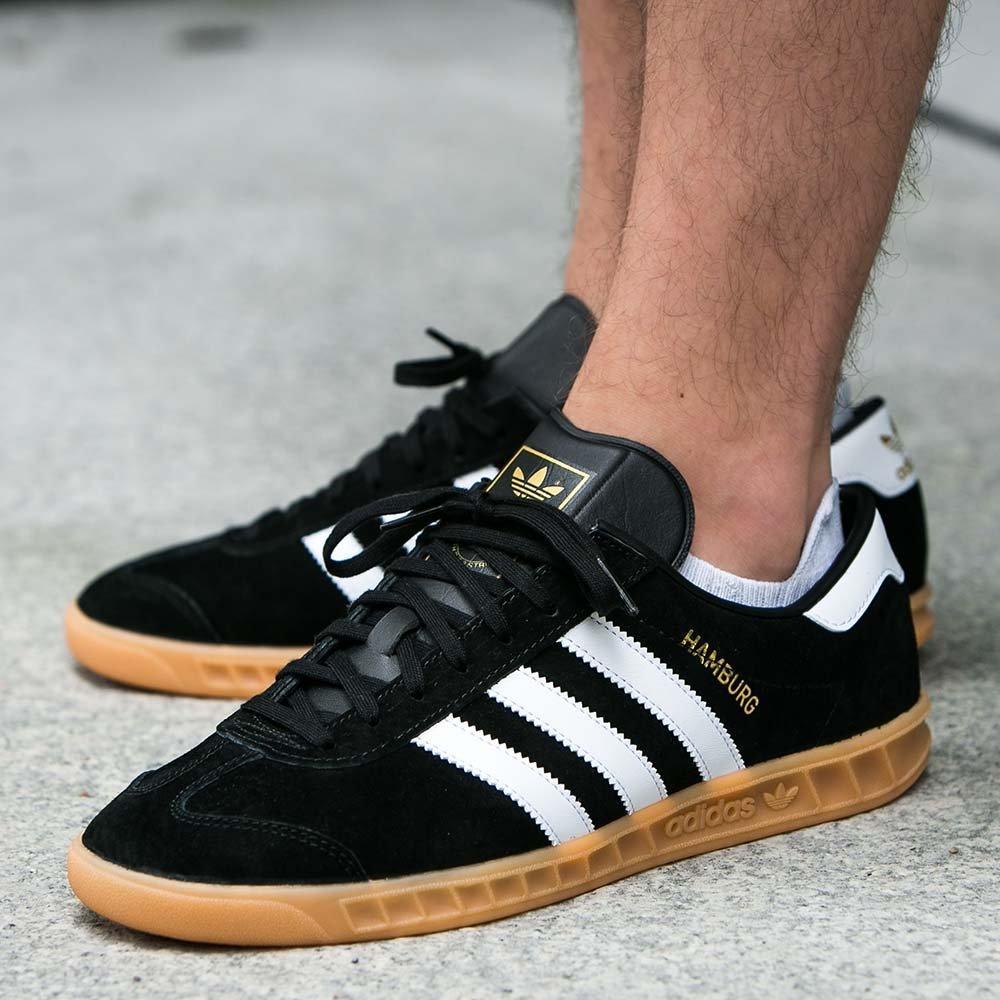 c4e4145ef93a4f Мужские кроссовки Adidas Hamburg Black S76696, оригинал, цена 2 290 грн.,  купить в Киеве — Prom.ua (ID#847524307)