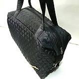 Женские стеганные вместительные сумки оптом (6 цветов)30*42см, фото 5