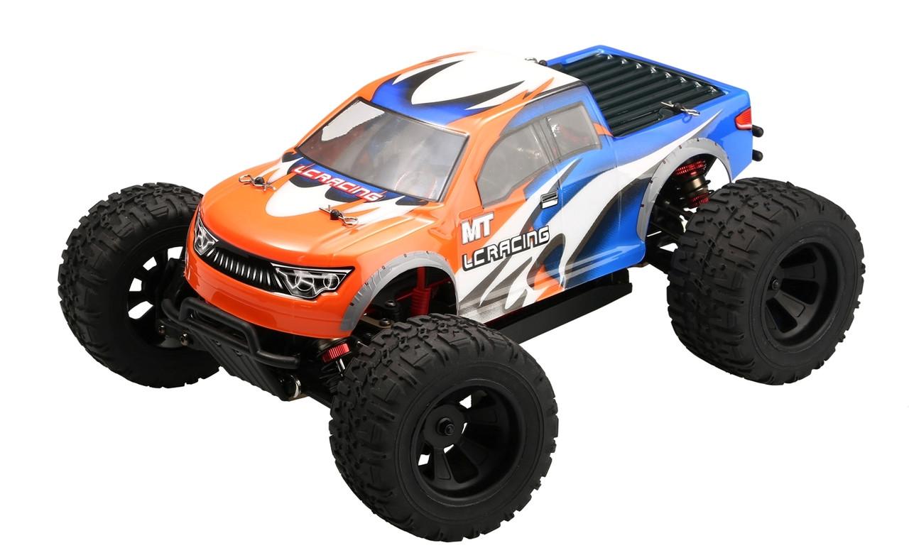 Радиоуправляемая машина Монстр 1:14 LC Racing MTH бесколлекторный