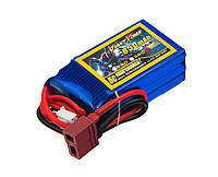 Аккумулятор Giant Power Li-Pol 850mAh 11.1V 3S 50C 21x30x54мм T-Plug