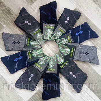 Шкарпетки чоловічі термо махрові бамбук бавовна Xijiafu, розмір 41-47, асорті, А01