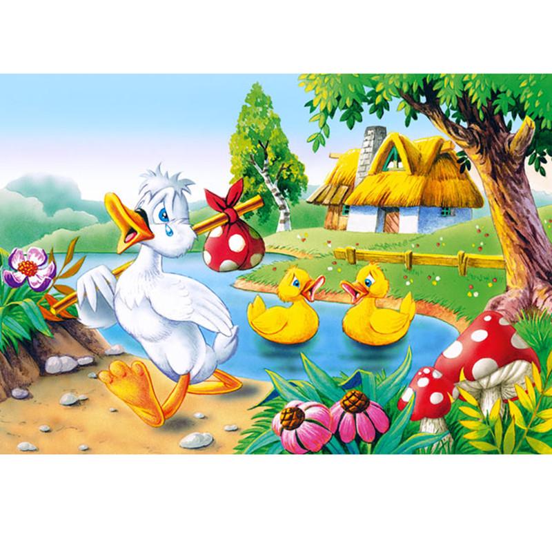 "Пазлы Castorland 60 эл. 06175 "" Гадкий утёнок"""