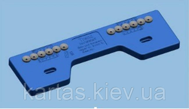MACO  21958  шаблон петель рамы 3мм