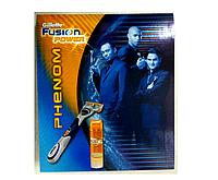 Gillette Fusion Power Phenom (станок для бритья + гель для бритья 200 мл) НАБОР, фото 1