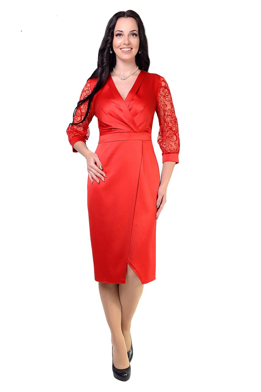 Шикарное нарядное платье Алевтина