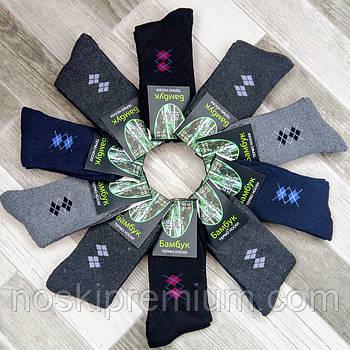Шкарпетки чоловічі термо махрові бамбук бавовна Xijiafu, розмір 41-47, асорті, А01-1