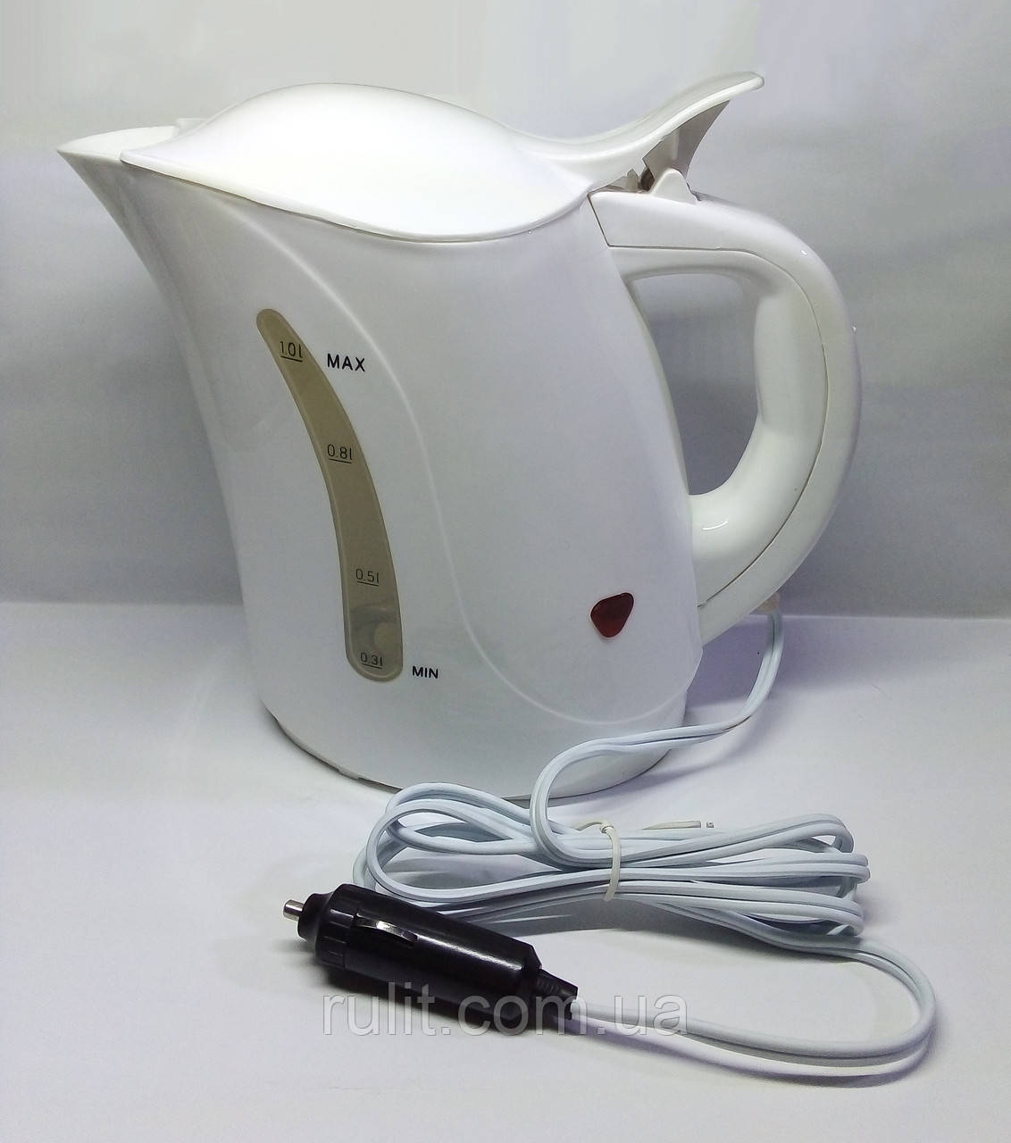 Автомобильный электрочайник чайник 12 вольт автомобильный от прикуривателя