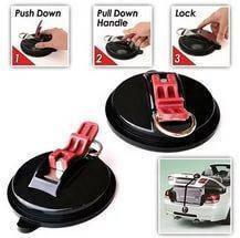 Фиксирующие присоски для автомобиля Suction Anchor Plus, фото 3