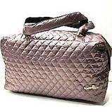 Женские стеганные вместительные сумки оптом (6 цветов)30*42см, фото 2