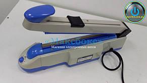 Запайщики механічні настільний CXP-400/2C CAS, обрізувач