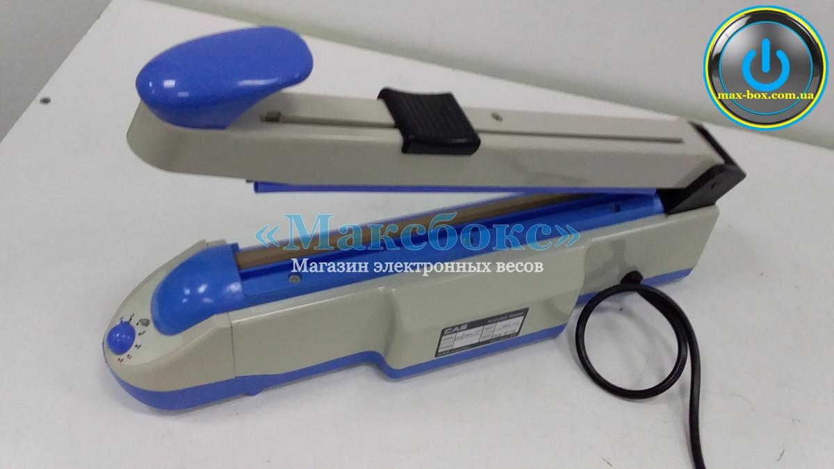 Запайщики механические настольный  CXP-400/2C CAS,  обрезчик