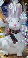 Заяц пластиковый под елку (37 см), фото 1