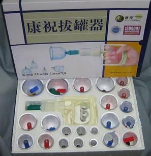 Антицеллюлитные массажные вакуумные банки (24 штуки в комплекте), фото 2
