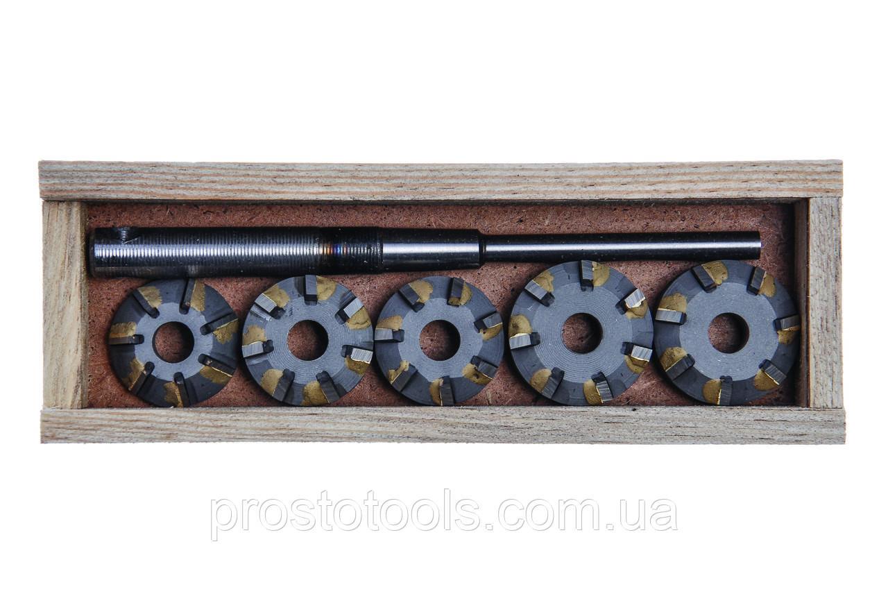Набор зенкеров для седел клапанов (ВАЗ 2110 16v), ШАР10-7Р