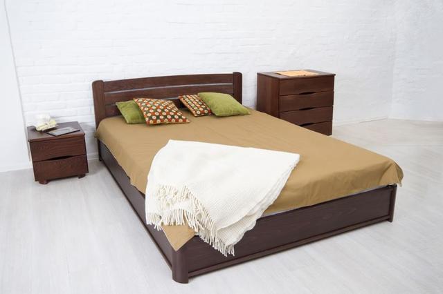 Кровать двуспальная София венге