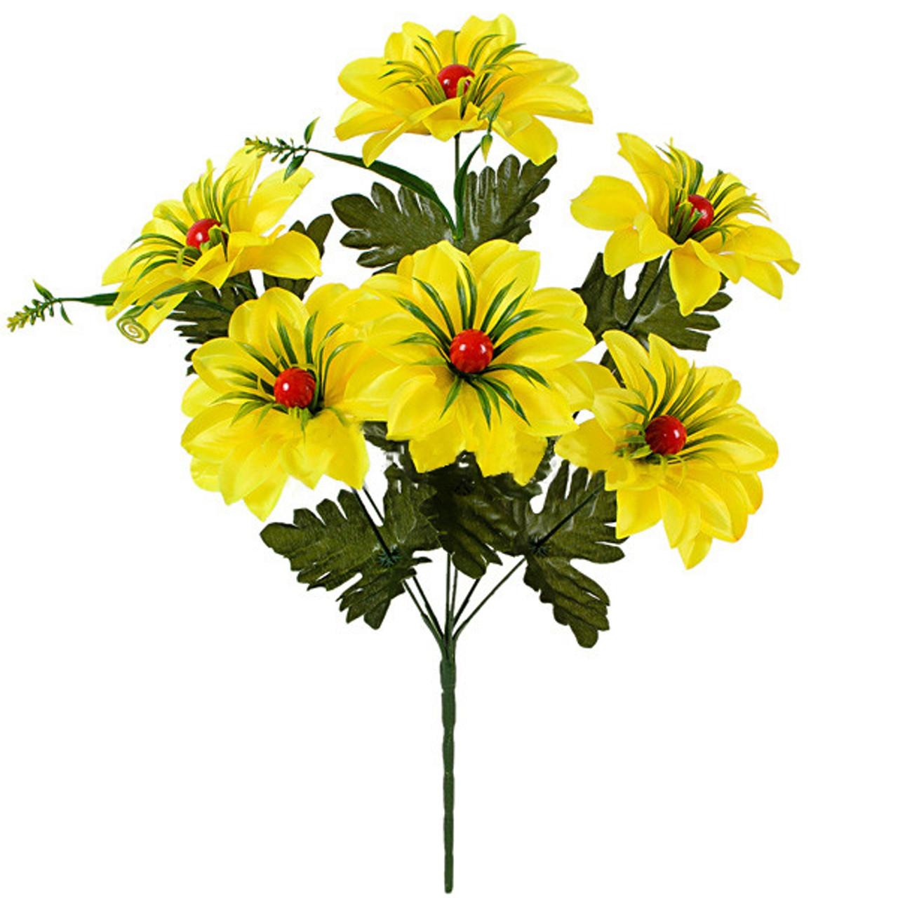 Букет искусственных цветов Калинка атлас, 49см(20 шт в уп)
