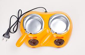 Электрическая шоколадница-фондю Chocolatiere, набор для фондю, фото 2