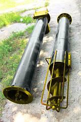 Шнек в сборе без двигателя диаметр 110 мм, длинна 2 м