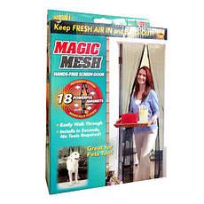 Универсальная Антимоскитная сетка на магнитах Magic Mesh, фото 3