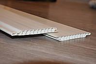 Вагонка белая 6000х100х10. Пластиковые панели ПВХ. Одесса