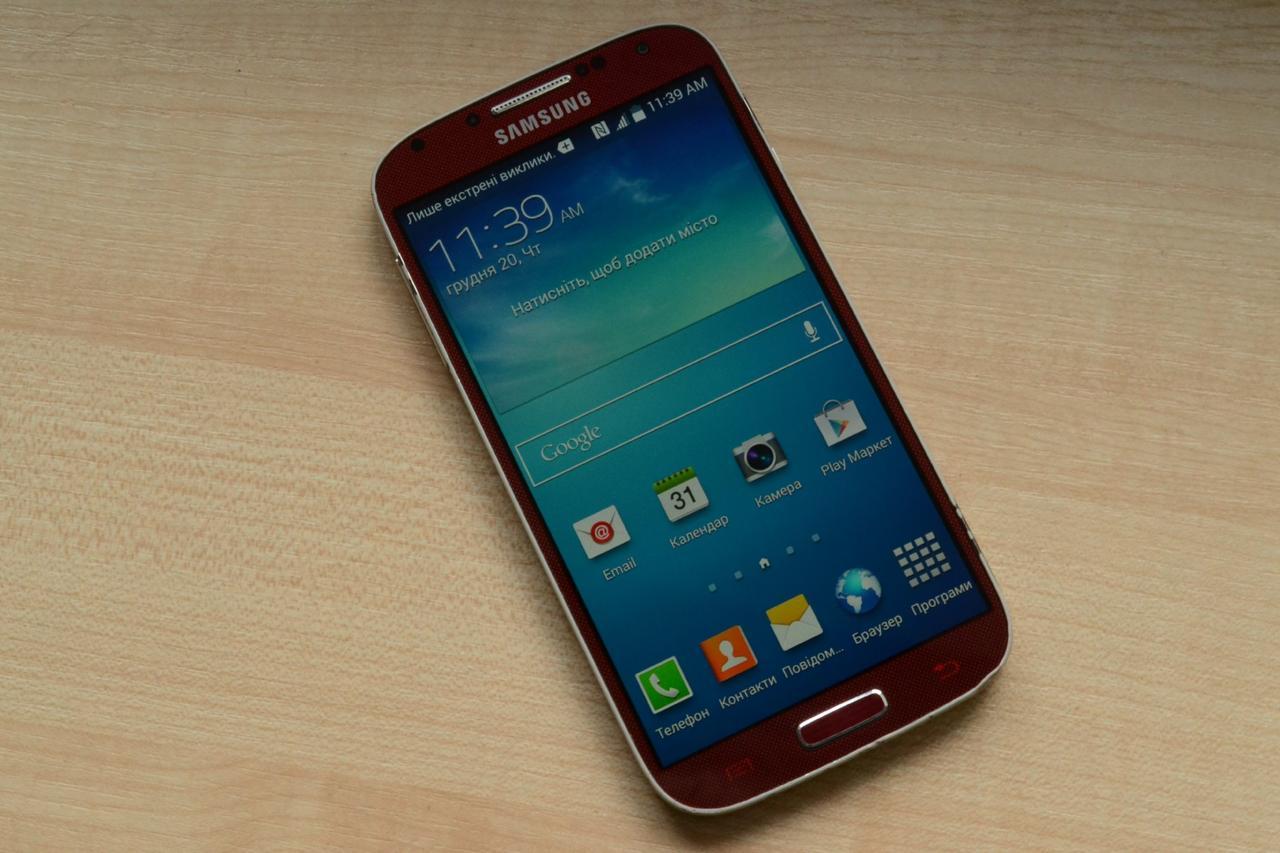 Samsung Galaxy S4 I337 16Gb Red Оригинал!
