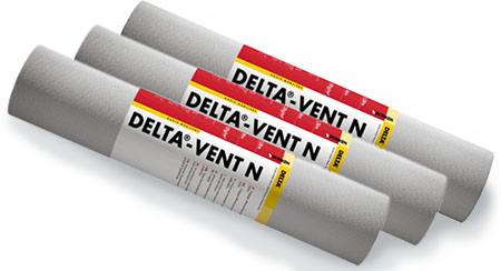 Супердиффузионная мембрана для скатных крыш Dorken Delta Vent N 130 г/м.кв. 1,5м х 50м (0568)