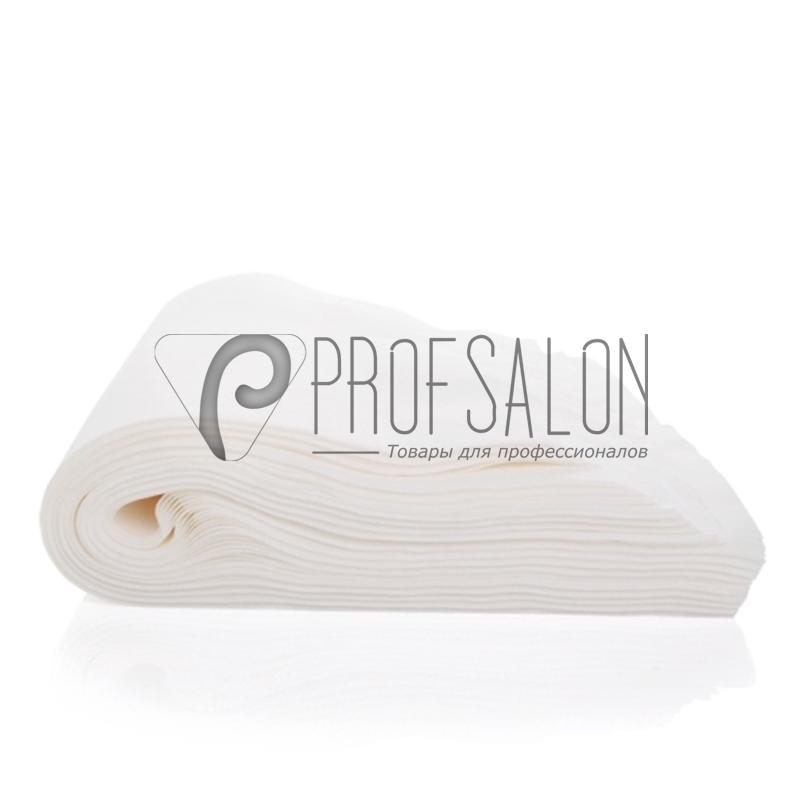Одноразовые полотенца Panni Mlada 35х70см 40г/м2, для парикмахерских,  гладкие/сетка 50 шт в пластах