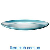 Тарелка IKEA ФЭРГРИК 604.153.65 бирюзовый