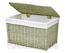 Плетені коробка 34x56x34 см Колір: перуанський сірий 65 л