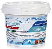 рН-минус для бассейна Crystal Pool гранулированный, 25 кг
