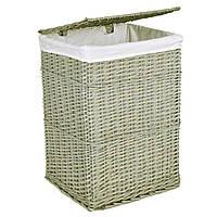 Плетена корзина 60x40x30 - перуанський сірий 72 л