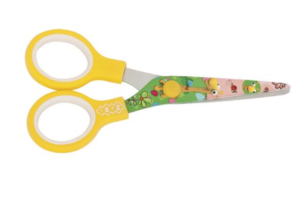 Ножиці дитячі з малюнком на лезах ZB.5009