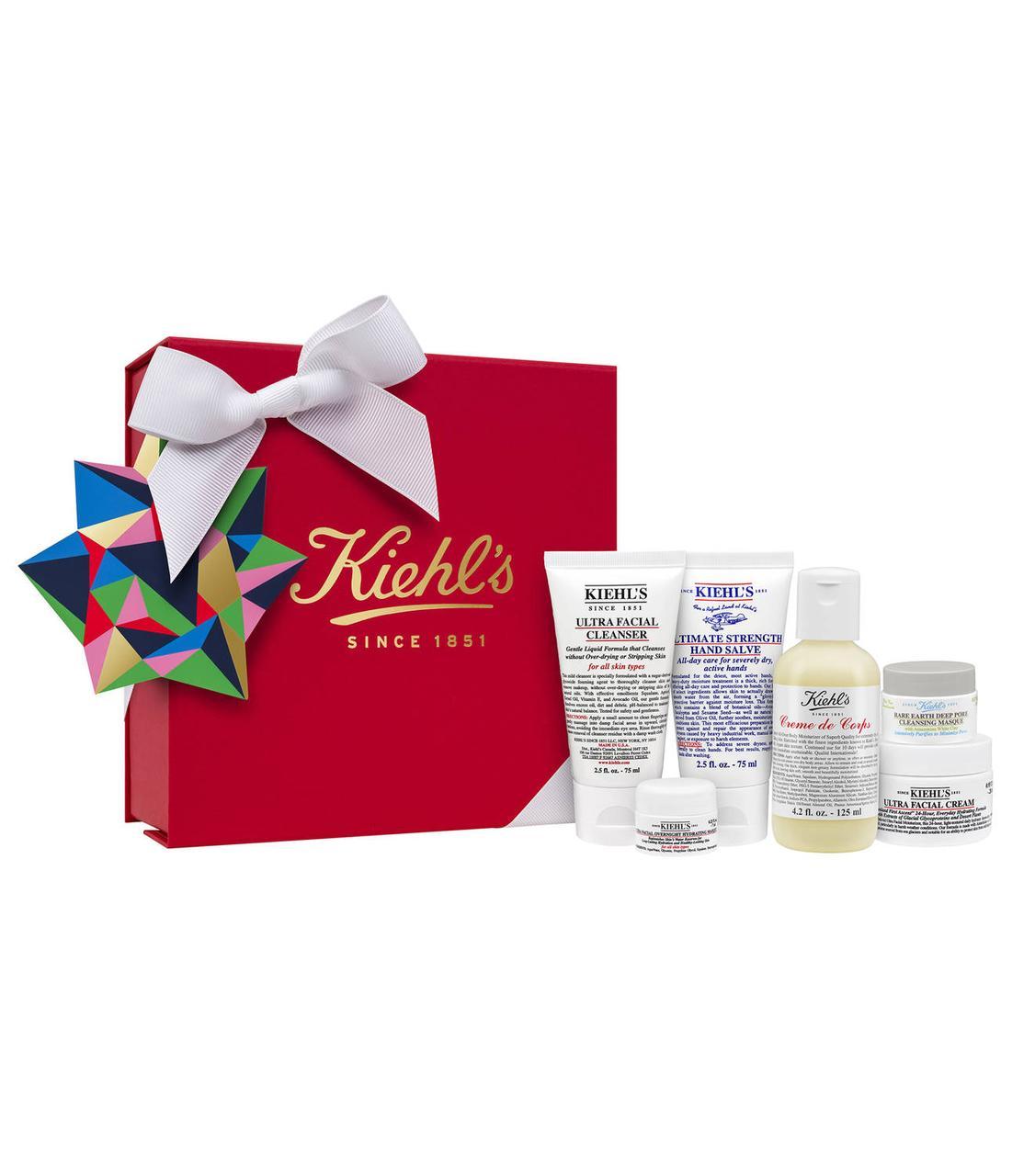 Лимитированный подарочный набор для ухода за кожей лица и тела Best of Kiehl's Set