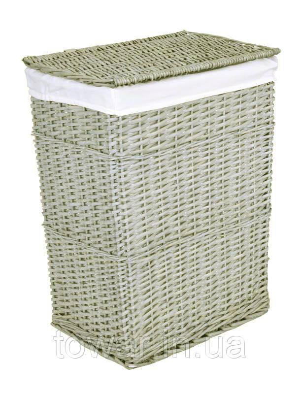 Плетеная корзина 66x48x36 Цвет: перуанский серый 114 л