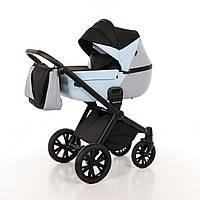 Детская коляска 2 в 1 Tako Junama Geographic 03 Серо-голубая 13-JG03, КОД: 287199