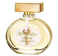 Оригинал Antonio Banderas Her Golden Secret 80ml (женственный, обольстительный цветочный аромат)
